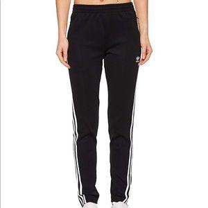 Adidas skinny leg zipper ankle pants
